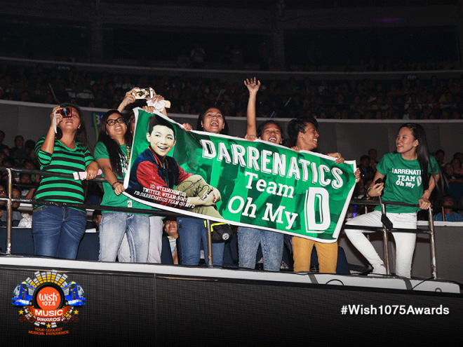 One of the Darrenatics group trooped to Araneta to witness their idol, Darren Espanto.